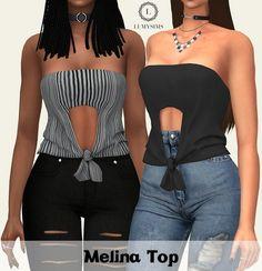 Melina Top at Lumy Sims • Sims 4 Updates