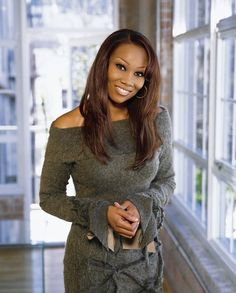Yolanda Adams (I'm black on the inside people....now if I could sing like her!)