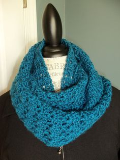 Ocen Blue Simply Soft Colored Infinity Scarf or by SnugableTouches, $20.00