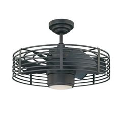 "Found it at AllModern - 23"" Enclave 7 Blade Ceiling Fan with Wall Remote"