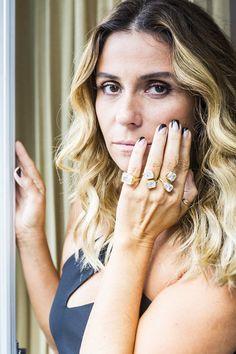Giovanna Antonelli aparecerá em A Regra do Jogo com estilo inusitado nas unhas (Foto: Ellen Soares / Gshow)