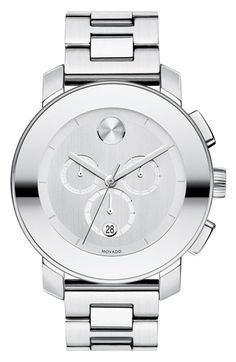 Movado 'Large Bold Chronograph' Bracelet Watch available at #Nordstrom