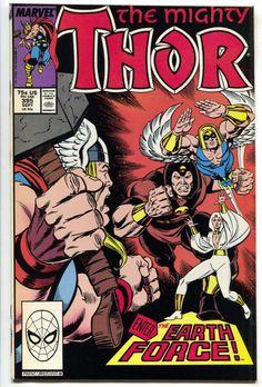 Mighty Thor 395 Marvel 1988 NM+ 9.6 Daredevil Tom Defalco