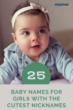 25 Baby Names for Girls with the Best Nicknames Ever We've picked 25 names for girls with the most adorable nicknames to help you decide which classic name and its pet form work best. #Babyname #BoysNames #UniqueNames