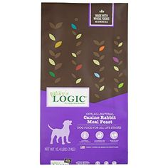 Nature'S Logic Canine Rabbit Meal Feast, -- Check this awesome product by going to the link at the image. (This is an affiliate link) Whole Food Recipes, Dog Food Recipes, Dry Dog Food, Pet Supplies, Rabbit, Meals, Link, Awesome, Check