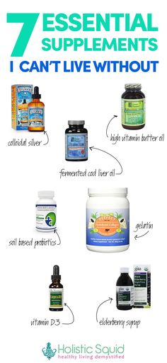 7 Essential Supplements I Can