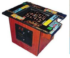 Cocktail Table Arcade Game
