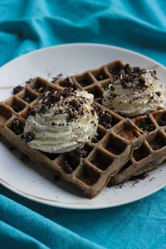 """Het lekkerste recept voor """"Oreo wafels"""" vind je bij njam! Ontdek nu meer dan duizenden smakelijke njam!-recepten voor alledaags kookplezier!"""