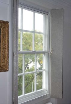Fabric shutters instead of curtains?