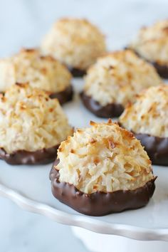 Coconut Macaroons - Glorious Treats