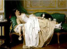 This one, too, might edge into the 19th century. It's a painting by Joseph Caraud. Delightful!