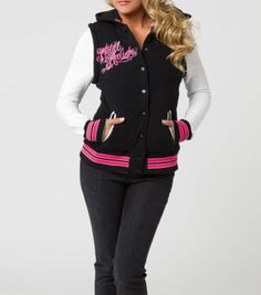 EMMA FLEECE JACKET - Metal Mulisha