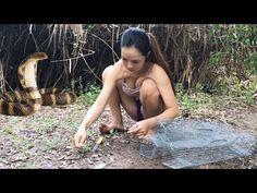 スマートな女の子によるすばらしい釣り - カンボジアでの伝統的な釣り - カンボジアでの釣りの方法パート153 - YouTube