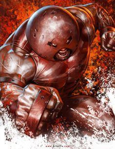 X-MEN: Juggernaut by ArtofTu.deviantart.com on @DeviantArt