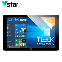 "169.99$  Buy here - http://alid9n.worldwells.pw/go.php?t=32668253704 - ""TECLAST Tbook11 Tbook 11 Dual OS Windows10 &Android 5.1 10.6"""" Tablet PC IntelZ8300 4GB RAM 64GB ROM IPS 1920*1080"""