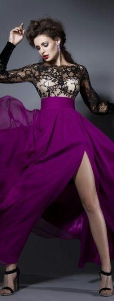 aubergine fashion ♥✤   Keep the Glamour   BeStayBeautiful
