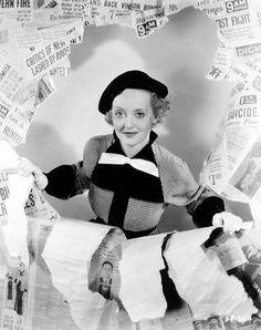 Bette Davis, Front Page Woman, 1935