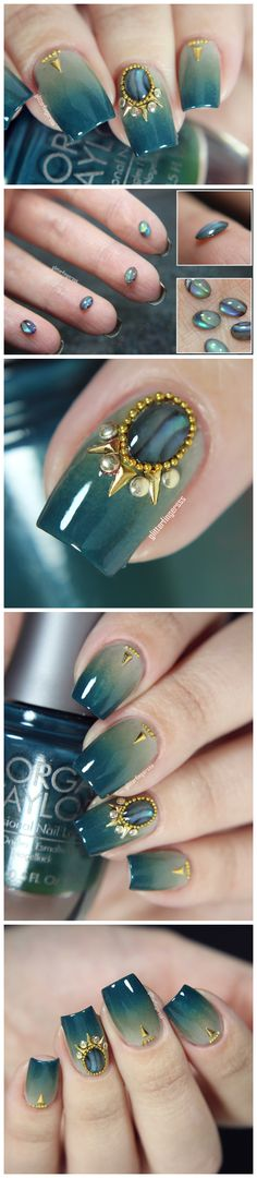 $3.28 5Pcs Mini 3D Nail Decoration Flat Bottom Stone For UV Gel Nail Art - BornPrettyStore.com