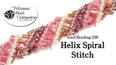Make a Helix Spiral Stitch Bracelet ~ Seed Bead Tutorials