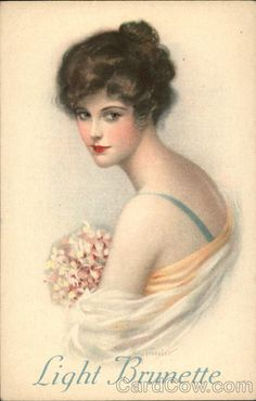 Light Brunette Penrhyn Stanlaws Women Advertising