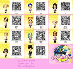 Tomodachi 3ds Qr Codes Kawaii Google Search Sailor Moon Coding Sailor
