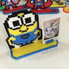 Instagram photo parsecret_beads (pixel art เม็ด บี ท พวง กุญแจ) | Iconosquare