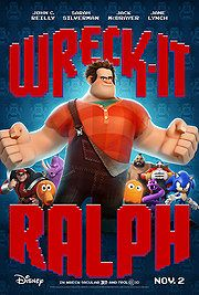Just saw Wreck-it Ralph tonight. REALLY GOOD movie. The movie short they play beforehand is fantastic as well.