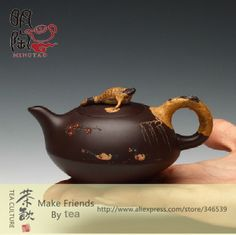 Original MingTao Wai Fung All Handmade Ceramic Purple Clay ZISHA Yixing Teapot Tea Pot Set Chinese Gifts 140CC ZINI S02 MTTP011 $82.66 Ceramic Teapots, Porcelain Ceramics, Teapot Cookies, Yixing Teapot, Cute Teapot, Tea Culture, Tea Pot Set, Tea Stains, Brewing Tea