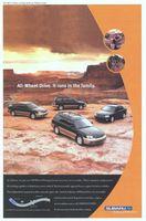 Subaru All-Wheel Drive 2000 Ad Picture