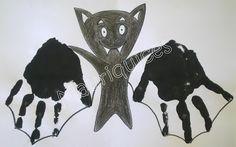Mauriquices: Morcego para o Halloween...