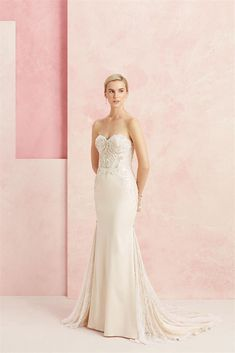 Find Confidence Wedding Dress by Beloved By Casablanca Available in 4 boutiques in Canada: Juliannah's Dress and Bridal (Moose Creek ), Annette's Bridal (St. Catharines), Chez Jordan (Woodbridge), I Do Bridal Boutique (Courtice), . Spring 2017 Wedding Dresses, Wedding Dress Pictures, Fit And Flare Wedding Dress, Wedding Dresses Photos, Bridal Wedding Dresses, Wedding Dress Styles, Wedding Summer, Bridal Style, Lace Wedding