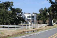 Nottoway Plantation, White Castle, Louisiana.