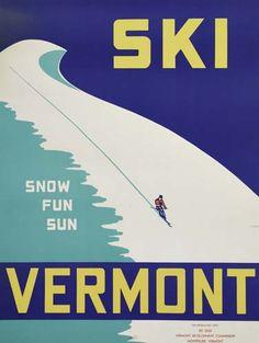 Ski Vermont - snow, fun, sun -