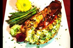 Broiled Florida Lobster Tail Recipe