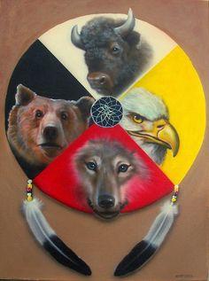 The Medicine Wheel : Native Wisdom