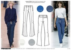#Trendzine SS17 #trends on #WeConnectFashion. Grounded mood, Women's apparel