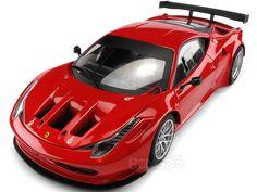Ferrari 458 Italia GT2 1:18 Scale - Hot Wheels Diecast Model (Red) #ferrari #diecast #118scale #supercars #scuderiaferrari #458 #F430 #italia #laferrari
