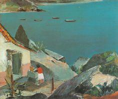 """Mangaratiba, """"toca da velha""""  Jose Pancetti 1946"""