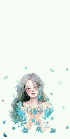Art Anime, Anime Art Girl, Cartoon Kunst, Cartoon Art, Anime Girl Drawings, Cute Drawings, Art And Illustration, Aesthetic Art, Aesthetic Anime