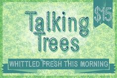 Talking Trees (2.0) by Ed J Brown on @creativemarket