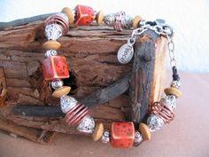 Beaded Peace Bracelet by windrose on Etsy, $15.00