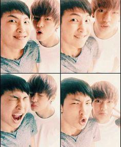 NamJoon and Taehyung
