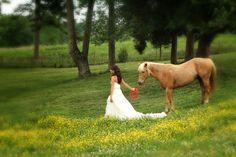 Beautiful farm wedding at Dewberry Farm.