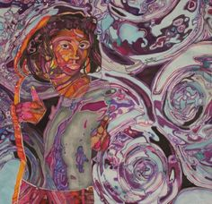 Dharma Trading Co. Featured Artist: Denise Torrance- silk painting
