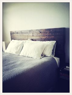 Headboard Reclaimed Wood by Reanimatedwood