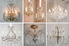 rustic shabby chic french decor | French Shabby Chic Style: Part 3 – Lighting