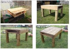Table from pallet wood | 1001 Pallets
