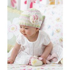 Mary Maxim - Free Frilly Hat & Tootsies Pattern - Free Patterns - Patterns & Books