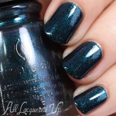 China Glaze Don't Get Elfed Up from Cheers! for Holiday 2015 : All Lacquered Up