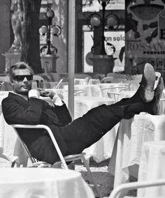Ahhhh..the Italian Cinema...Marcello Mastroianni 1963